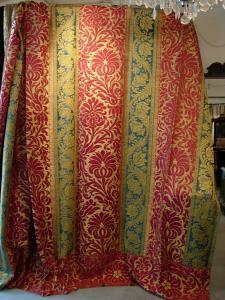 Парадные ткани, Лукка, раздел XVII