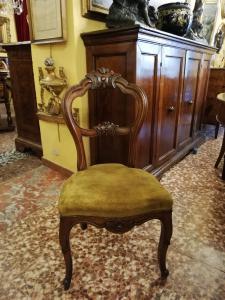 Set sei sedie luigi filippo