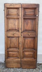 3 Türen in Nussbaum