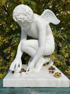 Escultura de mármore 73x95x130h