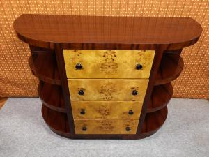装饰艺术风格的抽屉柜