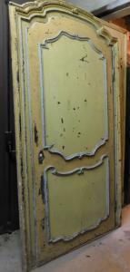 ptl419巴洛克门,带框架,胡桃木,尺寸:235 x 125厘米
