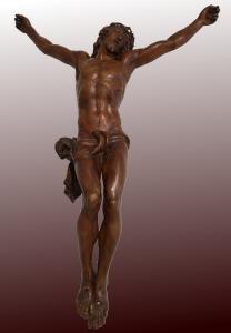 Cristo Crocifisso in bosso