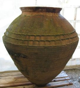 Amphora ancient terracotta. Greece, the Mediterranean countries. Art.0903
