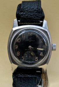 Rare wristwatch Longines aviation.With the original brand of the army.Ca 1940, World War II