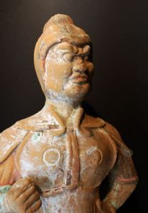 Guardiano in terracotta.