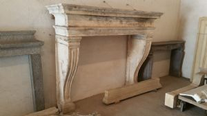 stone fireplace old 1600