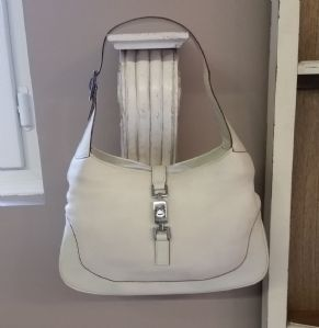 GUCCI BAG WHITE LEDER