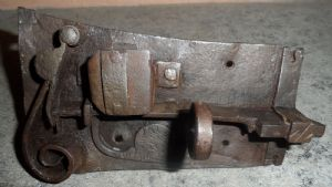 Piedmont ancient fully functional lock