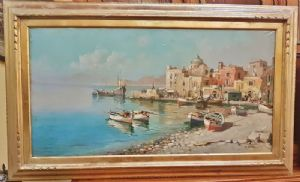 GIUSEPPE SAVED (1900 - 1968) VILLAGE MARINARO