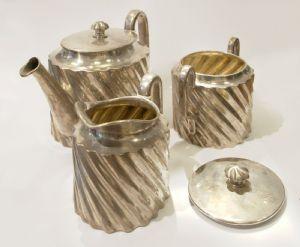 Ensemble de thé / café argenté de WÜRBEL