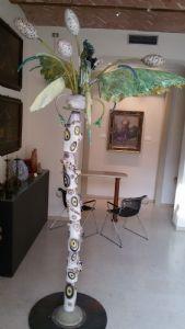 Bertozzi & Casoni - Palma - maiolica smaltata e dipinta - 1986