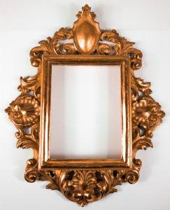 Cornice in foglia oro, Firenze , fine '800