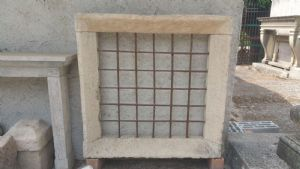 White marble antique window