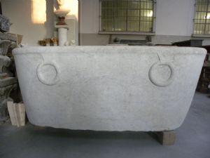 Vasca Da Bagno Antica : Vasca da bagno centro stanza in ghisa antica color bleu provence