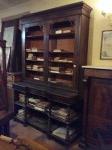 libreria mogano Genoa 170 larga alt 220 profonda 65