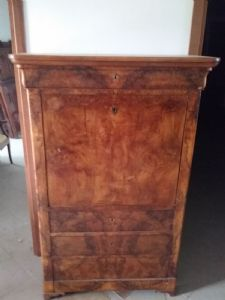 secretaire mahogany wooden floor secrets inside