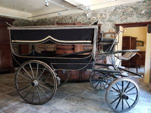 Hearse of the beginning of the 20th century