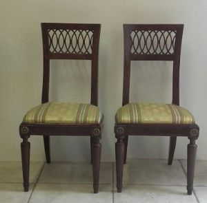 Gruppo di 6 sedie del '700