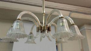 Lampadario Antico Murano : Antico lampadario in vetro di murano anni