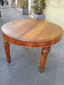 Tavolo in ciliegio l 123xh81 allungato 230 epoca 1800