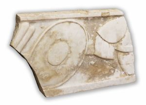 Ancient marble panel. Epoca 1400.