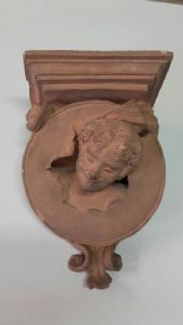 Mensola in terracotta