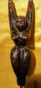 古代拟人缅甸木制弹弓