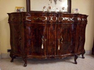 Credenza Arte Povera Fine 800 : Credenze antiche del mobili antichi