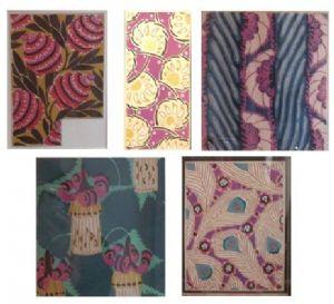 """Studies for fabrics"" drawings"