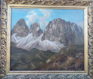 Gruppo del Sassolungo Val Gardena Dolomiti