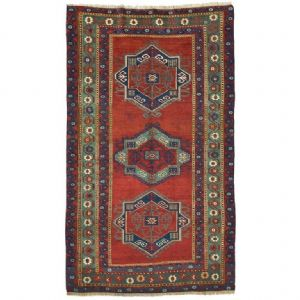 Antique Caucasian rug KAZAK