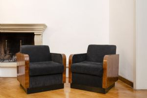 кресла пара грецкого ореха
