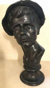 "Bronzeskulptur ""Balilla"""