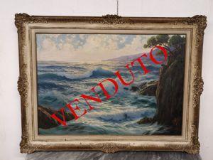 William Welters的大型绘画描绘了Marina。
