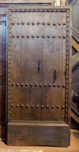 ptcr427 - porta com moldura pregada, ep. '600, cm 97 xh 209