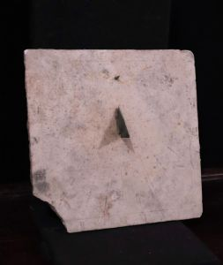 Sundial in marble, Tuscany, 17th century