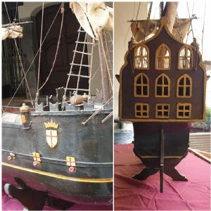 Galleon of the Maritime Republic of Genoa