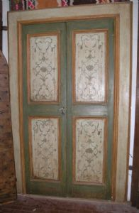 ptl270 lacquered and painted door vintage 700 mis.frame 150x240 cm max