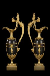 """Pair of spouts of """"Claude Galle"""""""