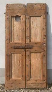 rustikale Tür