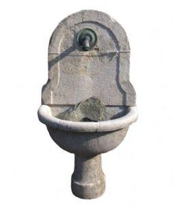 Saluzzese石头喷泉