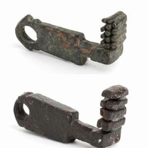 Paar original römische Schlüssel