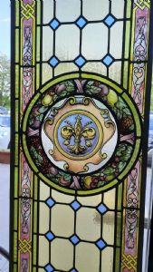 Grupo de 4 puertas de vidrio