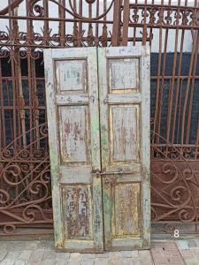 antike rustikale Türen