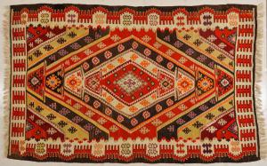 Turkish Antique Kilim Sivas from Private Collection