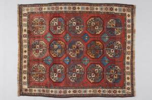 Persian SHIRAZ carpet with Bokara design - n. 958