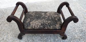 Antique footrest
