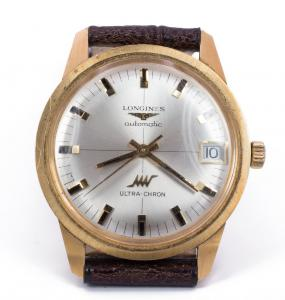 Longines Ultra-Chron wristwatch in 18k gold - automatic - 60s