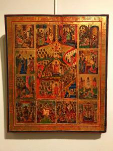 "Icon depicting ""Resurrection of Christ"" - lot 7"